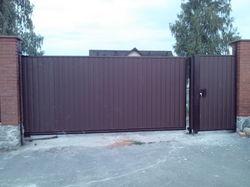Ворота откатные для самостоятельной установки