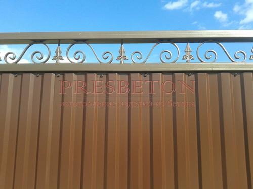 Ворота откатные Премиум Арт