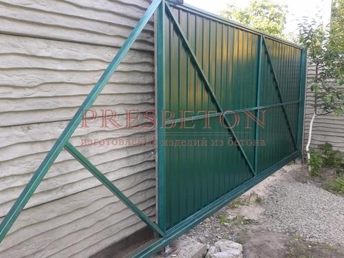 Ворота откатные под ключ
