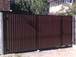 Ворота распашные Премиум+