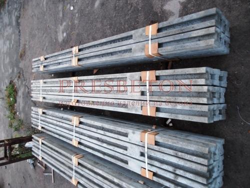 Столб на 6 плит усиленный