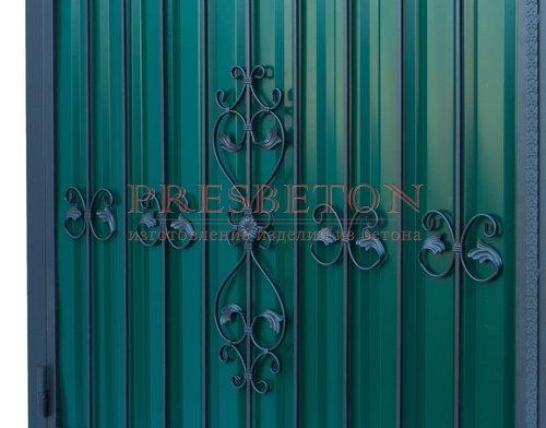 Ворота кованые гнутые мг2