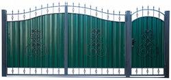 Ворота кованые гнутые мг5