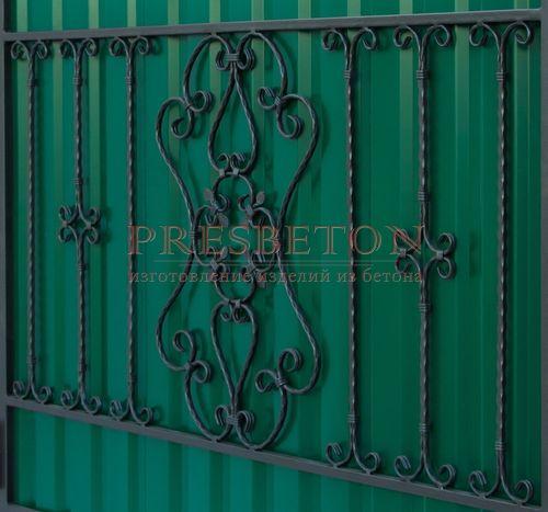 Ворота кованые гнутые мг10