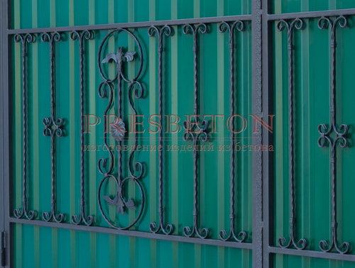 Ворота кованые гнутые мг11