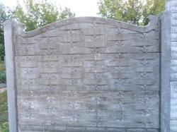 Забор под ключ на 3 плиты плетень с ковкой